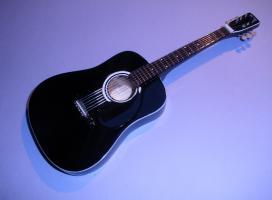 Miniaturgitarre – Johnny Cash – Acoustic Martin