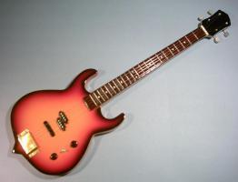 Miniaturgitarre – Kiss - Gene Simmons Punisher Bass