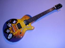 Miniaturgitarre – Kiss - Rock 'n Roll Epiphone