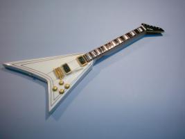 Miniaturgitarre – Randy Rhoads Jackson White