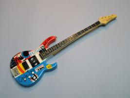 Miniaturgitarre – Red Hot Chili Peppers – Flea's Psychedelic Bass