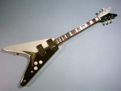 Miniaturgitarre – Scorpions' Michael Schenker Dean Flying 'V'