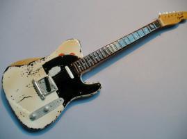 Miniaturgitarre – Status Quo - Rick Parfitt Tribute Telecaster