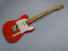 Miniaturgitarre – Telecaster Red