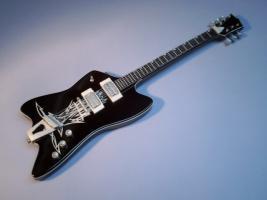 Miniaturgitarre – ZZ Top Billy Gibbons Black Reverse Jupiter