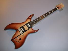 Miniaturgitarre - BC Rich Bich Guitar