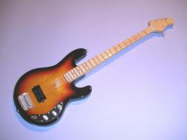 Miniaturgitarre - Cliff Williams guitar – AC/DC