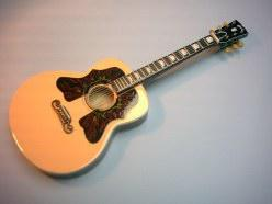 Miniaturgitarre - Ron Wood Signature Gibson Acoustic