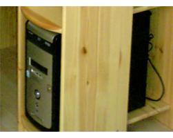 Foto 2 Minitower-PC mit TFT-Monitor