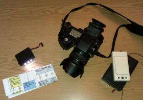 Foto 3 Minolta Dimage 7Hi Systemkamera + Funkauslöser + AF-Hilfslicht