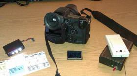 Foto 8 Minolta Dimage 7Hi Systemkamera + Funkausl�ser + AF-Hilfslicht