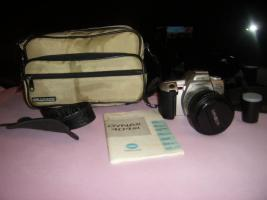 Foto 3 Minolta Dynax 404si + 28-80mm Objektiv und neuer Film, neuwertig!
