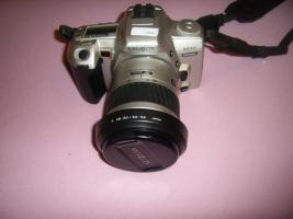 Foto 4 Minolta Dynax 404si + 28-80mm Objektiv und neuer Film, neuwertig!