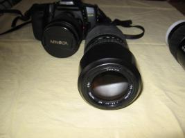 Foto 2 Minolta MAXXUM 550 SI   3 Super- Objektive (1x AF 28-80/1x AF 75-300/1x 100-300)   Tasche