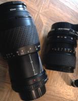 Foto 2 Minolta X-300s mit 2 Objektiven + zus�tzlichen Filtern sowie Stativ