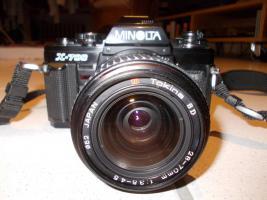 Foto 3 Minolta X-700, 3 Objektive, Blitz, Tasche