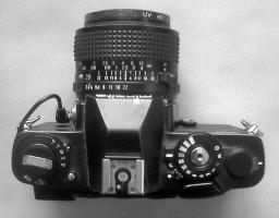 Foto 3 Minolta XD7 schwarz + Zubehör zu verkaufen ,
