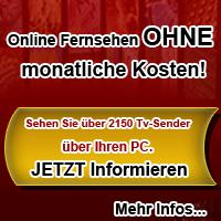 Mit online Fernsehen legal 2150 Programme nutzen!