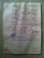 Mittelalterliche Handschrift, Original, Italien um 1380