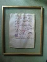 Foto 2 Mittelalterliche Handschrift, Original, Italien um 1380