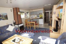 Mobilheim Wohnraum/Küche