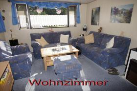 Mobilheim Wohnzimmer