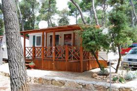 Mobilheim in Kroatien/Dalmatien 32 qm am Meer