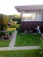 Foto 2 Mobilheim mit Vorbau auf schöner Parzelle an der Iyssel zu verkaufen!!!!!!!