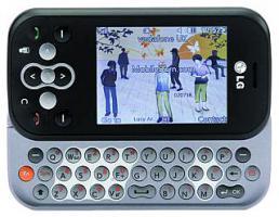 Mobiltelefon LG ''KS360'', Slider-Handy mit QWERTZ-Tastatur, Vertragsfrei - OHNE Sim-Lock