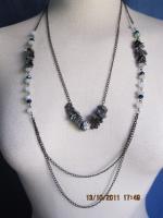 Mode-Accessoire '' Halskette Collier Modeschmuck''