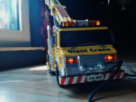 Foto 2 Modellauto DEMAG 500 Tonnen Baukran ! Mit FB