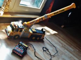 Foto 4 Modellauto DEMAG 500 Tonnen Baukran ! Mit FB