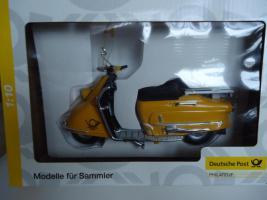 Modellfahrzeug Roller der Deutschen Post im Maßstab 1:10