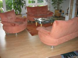 Moderene Wohnzimmer Couchgarnitur 3/2/1 zum Top-Preis