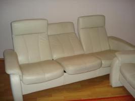 Moderne 2 ,3 Sitzer, Ledersofa mit Funktion.