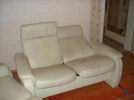 Foto 2 Moderne 2 ,3 Sitzer, Ledersofa mit Funktion.