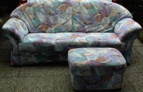 Foto 2 Moderne Couchgarnitur, top Zustand, Transport möglich