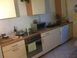 Moderne Küche mit Apothekerschrank günstig zu verkaufen
