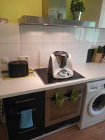 Moderne Küche inkl. aller Elektrogeräte!