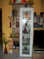 Foto 2 Moderne Wohnwand in weiß/noce zu verkaufen
