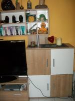 Foto 4 Moderne Wohnwand in weiß/noce zu verkaufen