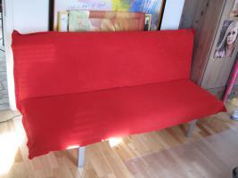 Foto 2 Moderne und gut erhalte rote Schlafcouch (2 Jahre alt) zu verkaufen