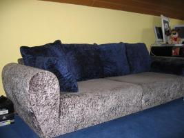 Moderne, große  Couch