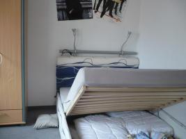 Foto 4 Modernes Bett 2,00mx1,40m inkl. 2 Leseleuchten und Bettkasten