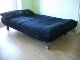Foto 2 Modernes Kippsofa mit Schlaffunktion