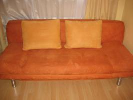 Foto 3 Modernes Sofa mit Schlaffunktion und Bettkasten