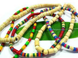 Foto 2 Modeschmuck - Holzketten, Armbänder, Indianerketten, Broschen, Ohrringe