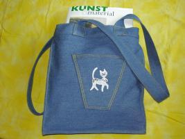 Modische und praktische  Liasta -  Shopping-Bag: ''Kleine Wildkatze''