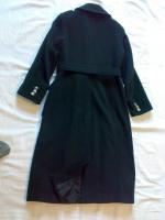 Foto 2 Modischer Damenmantel, dunkelgrau. Gr.