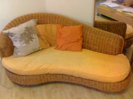 Modisches Domicil Sofa fast wie neu, günstig abzugeben